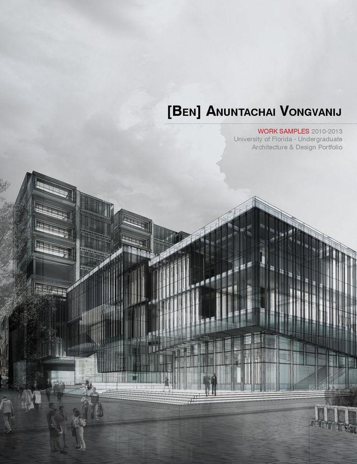Architecture Portfolio -Vongvanij  2011-2013 Undergraduate works from University of Florida.