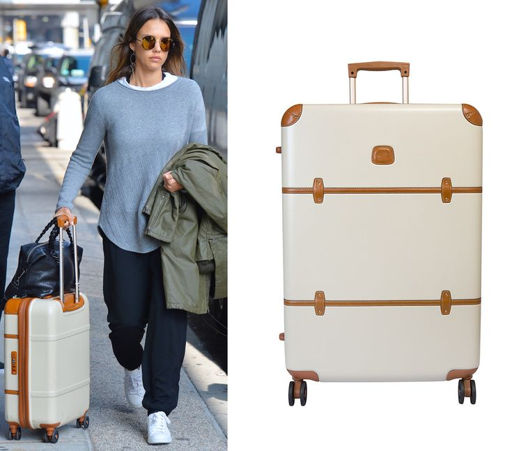 Luggage Brands Celebrities Love - Bric's from InStyle.com