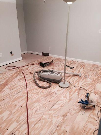 diy plywood plank floors, diy, flooring, woodworking projects