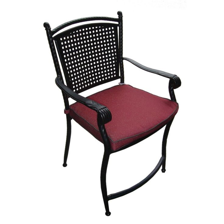 Outdoor Savannah Aluminum And All Weather Wicker High Back Dining Chair - Set of 4 - SRC2825HB