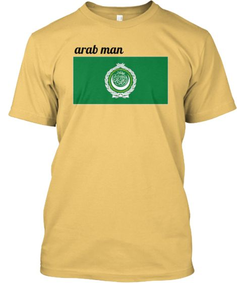 arabman in yellow with flag | Teespring