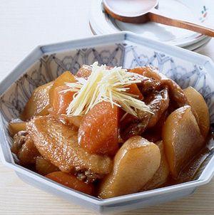 大根と手羽先の照り煮 | 有元葉子さんのレシピ【オレンジページnet ...