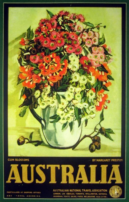 Margaret Preston - poster for the Australian National Travel Association.