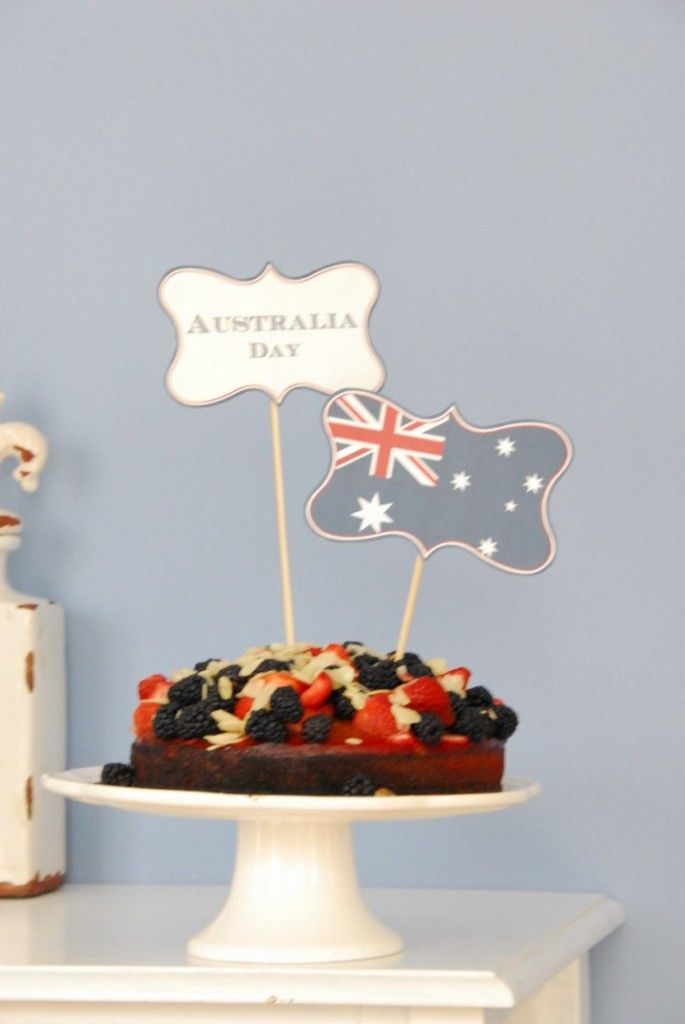 Australia Day // Printable tag
