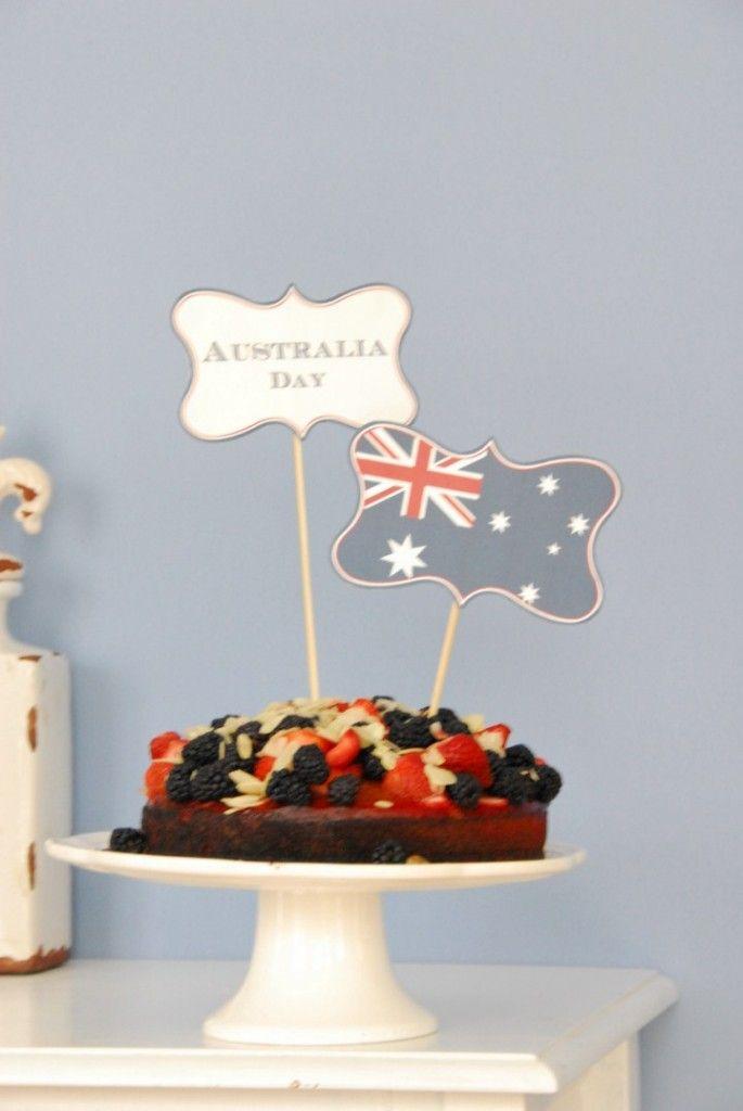 Australia Day // Printable tag