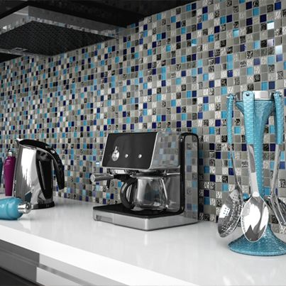 15 best imagina un lugar en esta casa images on pinterest - Mosaico para banos ...