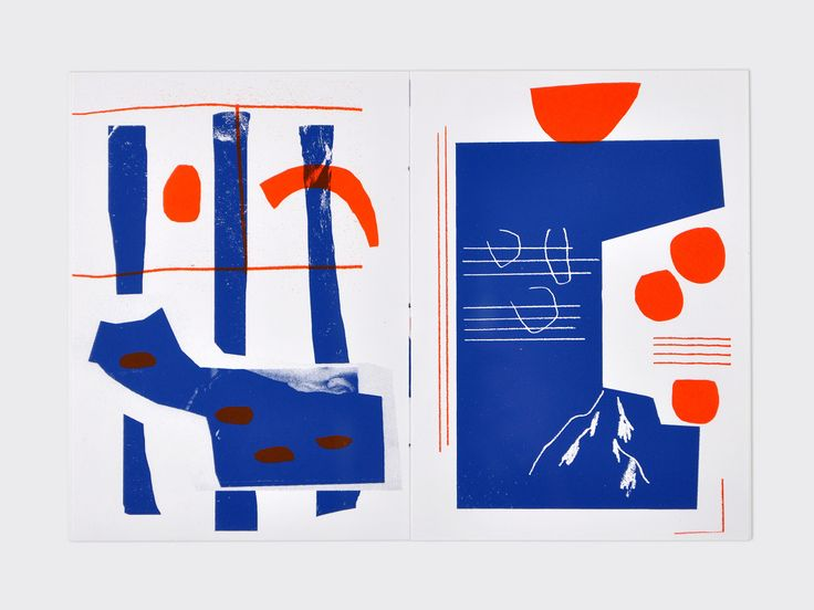 """Screenprinted artist book which was part of the series """"Accumulation Primitive"""", printed and curated by Palefroi."""