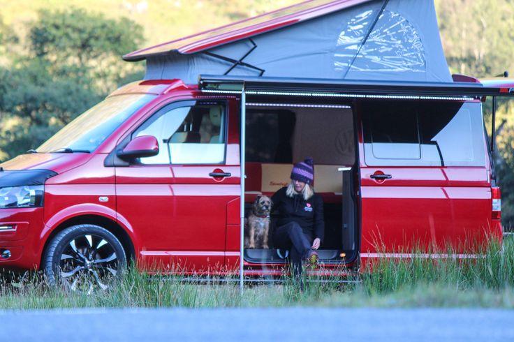 Spindrift  bespoke campervan conversion complete.