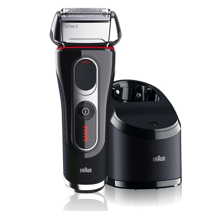 Personal Edge : Braun 5090CC Series 5 Flex MotionTec Rechargeable Shaver with Clean&Charge