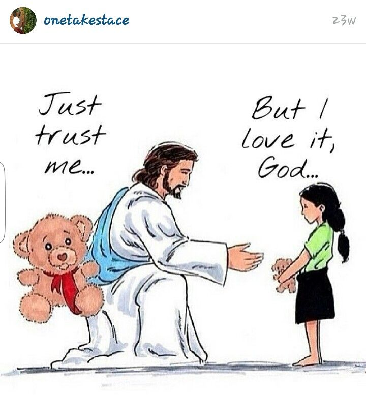 This is sooooo true, if we can only let go and TRUST GOD. Thank You Lord God, in Your Beautiful and Powerful Son Jesus Holy Name! Amen