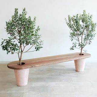 unique and easy-to-make garden bench
