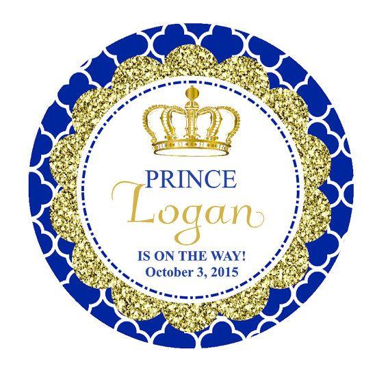 Royal Prince Favor Tags