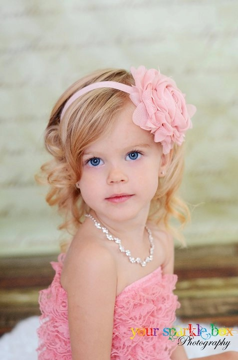 1000 Images About Flower Girl Hairstyles On Pinterest