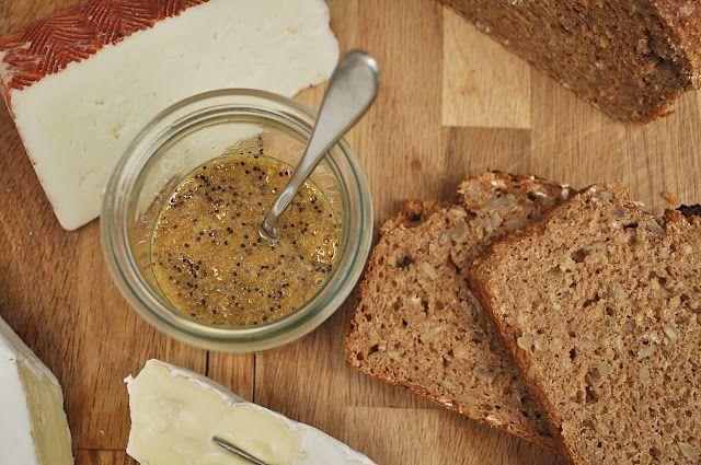 selbstgemacht aus meiner Küche: Honig-Mohn-Senf von www.SmillasWohngefuehl.blogspot.com