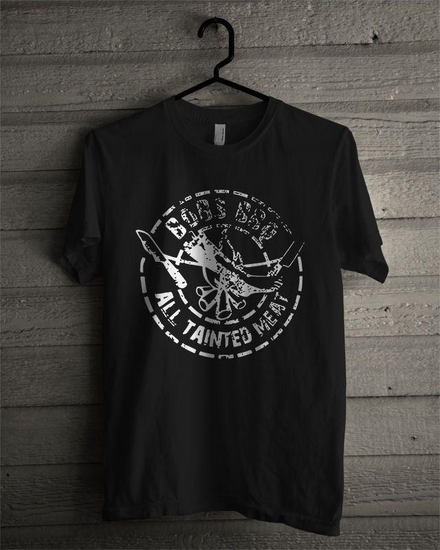 Bob's BBQ Funny New men Black T-Shirt 100% Cotton Basic tee #Gildan #BasicTee