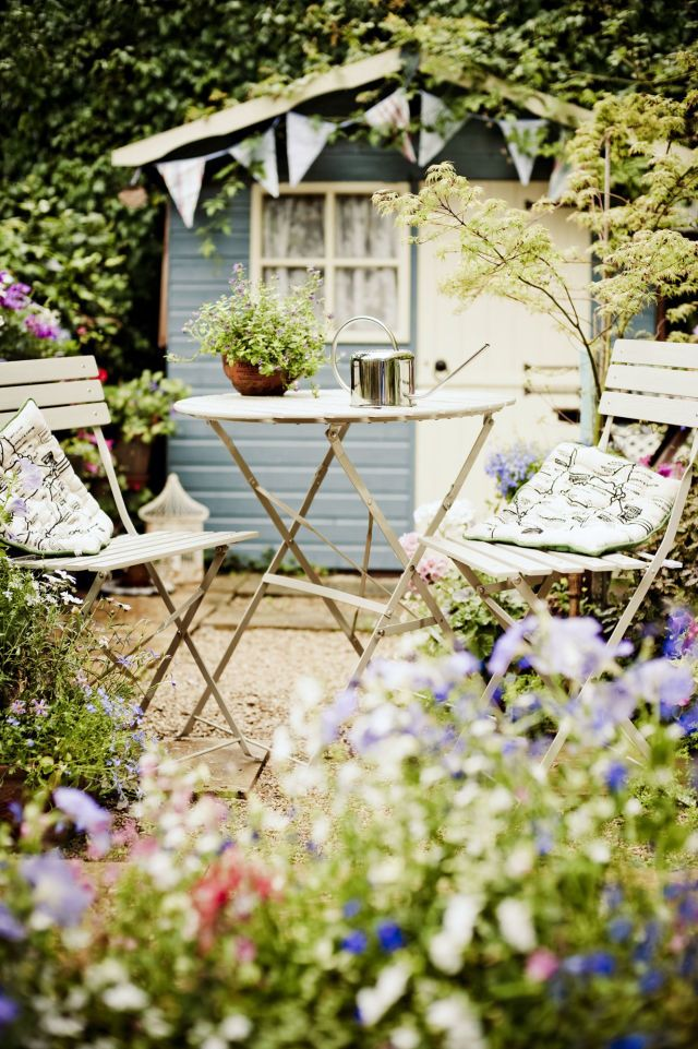 There are no rules when it comes to creating the perfect backyard she shed—it's all about you being you.