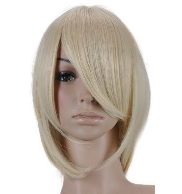 SERINA SHORT BLONDE WIG COSPLAY $24.99