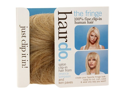 Jessica Simpson Clip-In Fringe Ginger Blonde - Zappos.com Free Shipping BOTH Ways