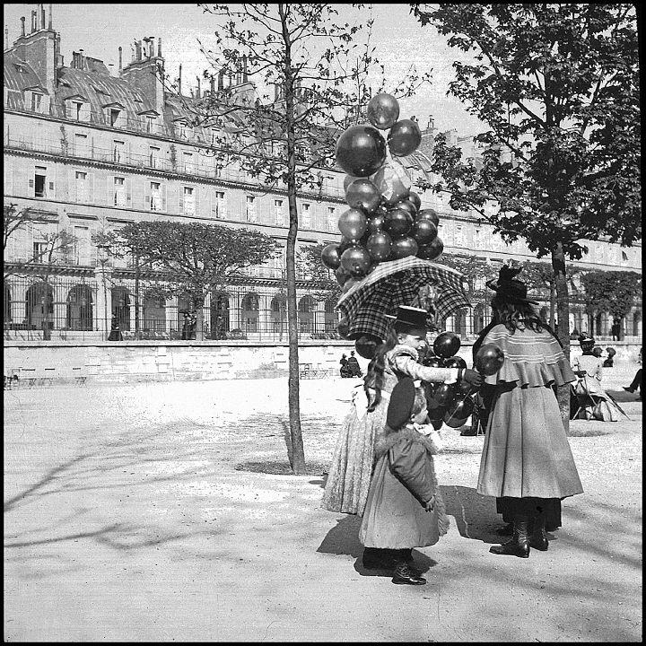 1900 - marchande-de-ballons.