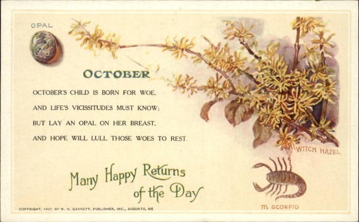 HOROSCOPE ASTROLOGY Scorpio Birthday c1910 Postcardhttp://www.ebay.com/itm/HOROSCOPE-ASTROLOGY-Scorpio-Birthday-c1910-Postcard-/350531116984?pt=LH_DefaultDomain_0=item519d485fb8#ht_1238wt_1398