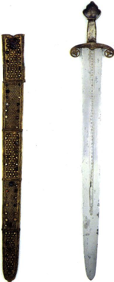 Sword of the king of Castile and Leon Fernando III (San Fernando) (1199-1252)