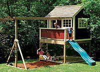 PLAYHOUSE SHED PLANS « Home Plans & Home Design