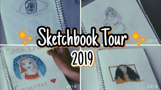 What S In My Sketchbook Tour 3 Year Art Progression Art