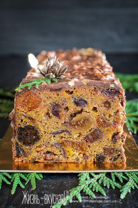 английский рождественский кекс рецепт, как приготовить рождественский кекс, кекс к Рождеству рецепт, традиционный фруктовый кекс рецепт приготовления