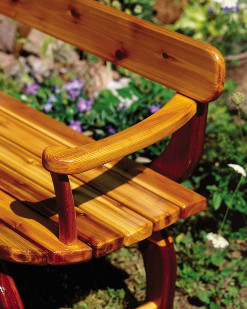 An outdoor loveseat for your yard – Canadian Home Workshop