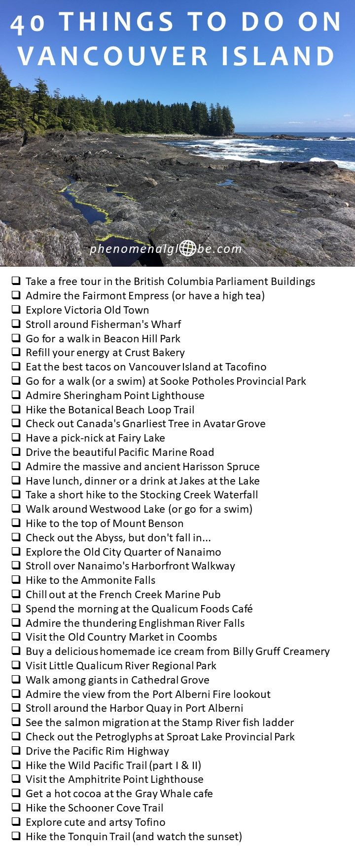 The 40 Best Things To See And Do On Vancouver Island