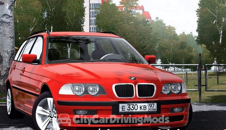 Bmw E46 Touring 320i City Car Driving Mods Place Ccdmods Download