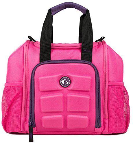 6 Pack Fitness Bag Mini Innovator for the smaller lady bodybuilder.