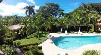 Vue de l'hôtel de la Golden Coast, Costa Rica