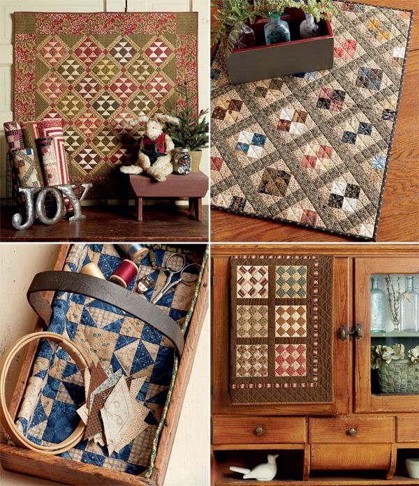 Petite patchwork from the book Jo's Little Favorites by Jo Morton