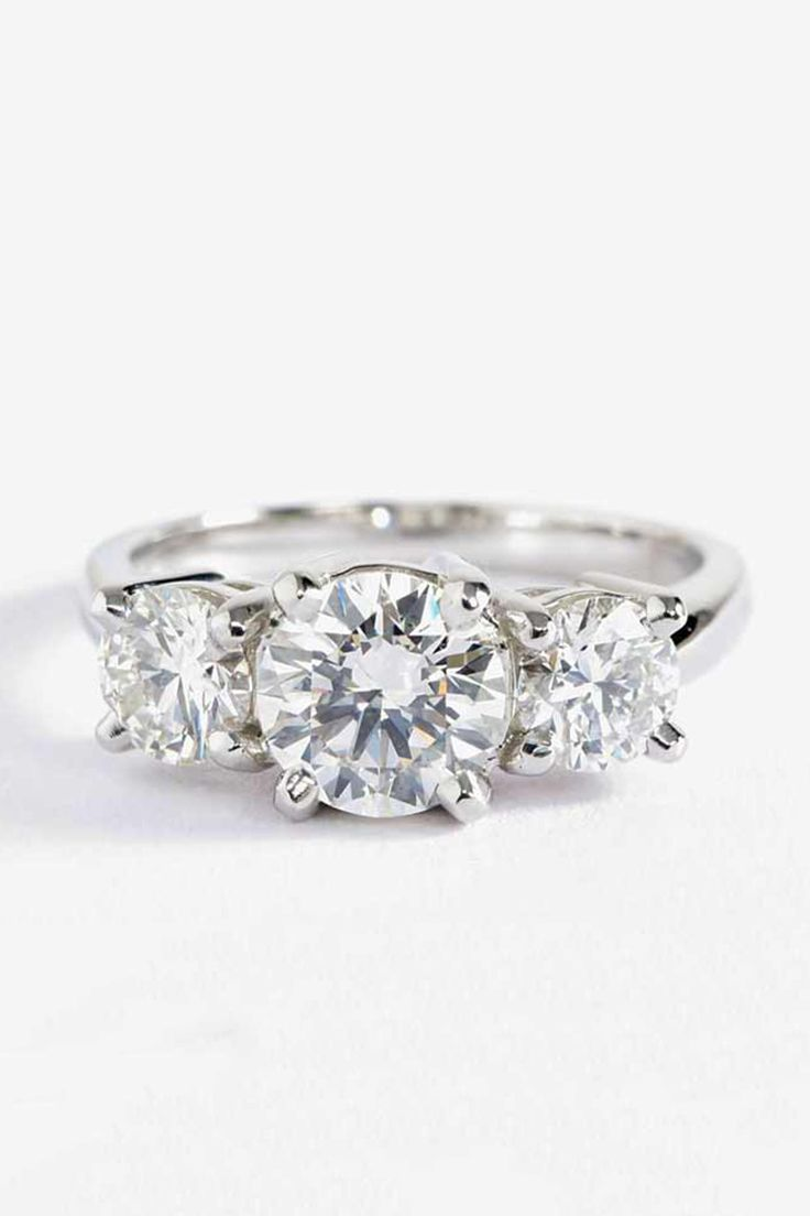 While the more unusual cuts of diamonds have been gathering momentum - 6 Classic Engagement Rings That Will Always Be In Style