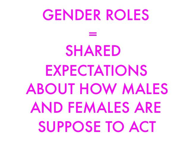 gender roles yesterday and today Women's roles vary by society and time period, but there has been a gradual increase in gender equality, especially in the last hundred years women do not have equal rights in some countries .