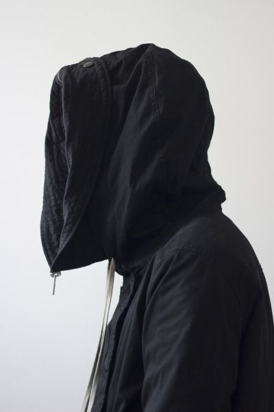 Visions of the Future // Rick Owens hooded parka