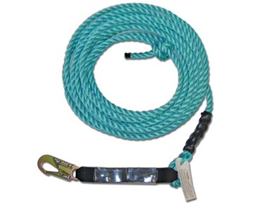 Guardian Fall Protection Standard Vertical Lifeline Assembly 5/8 available at http://buymbs.com