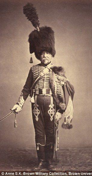 Quartermaster Fabry of the 1st Hussars...