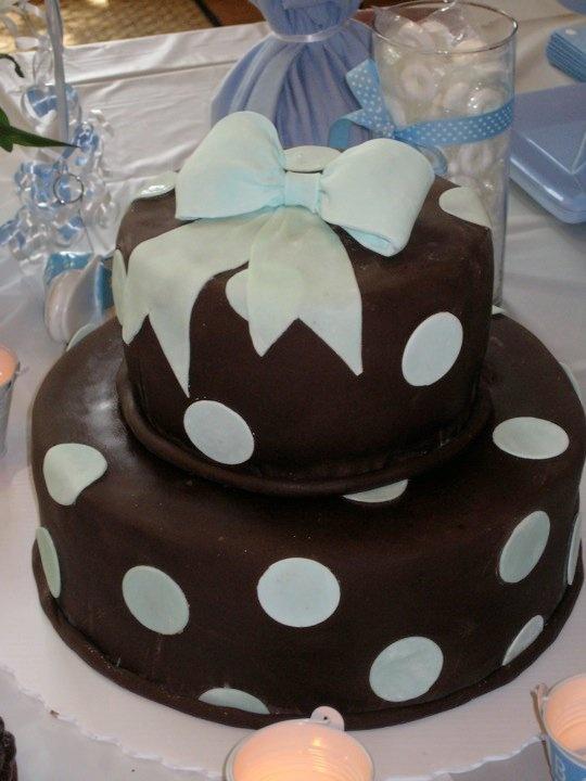 Flirt with Dessert: Baby boy shower cake