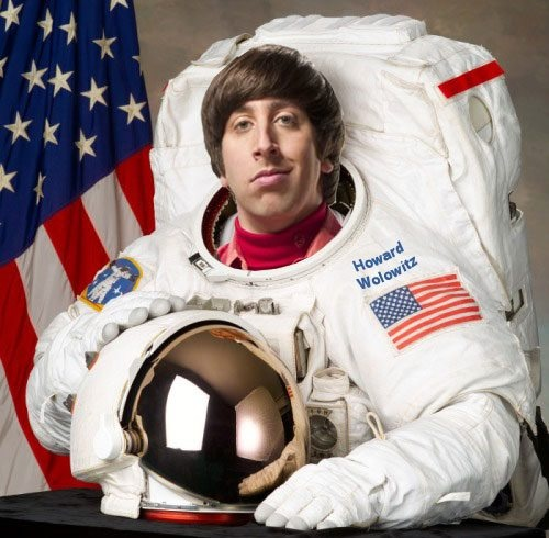 "Howard ""Fruit Loops"" Wolowitz ( Big Bang Theory)."