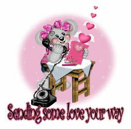 Sending some love your way