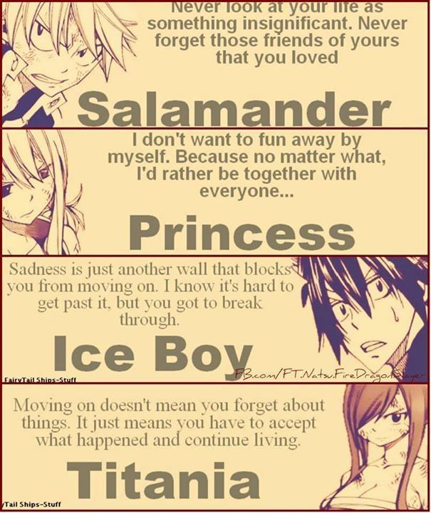 Fairy Tail Love Quotes 11 Best Fairy Tail Quotes Images On Pinterest  Drawings Of Carrots