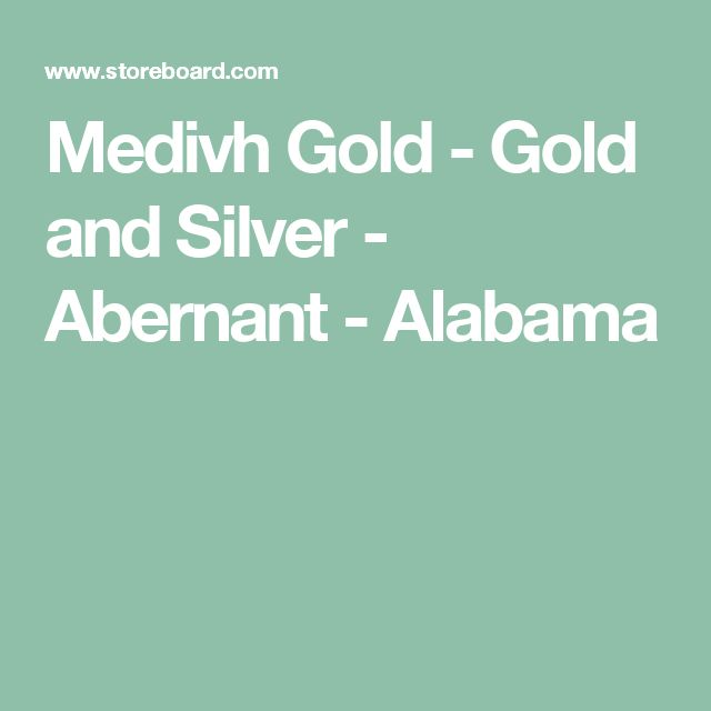 Medivh Gold - Gold and Silver - Abernant - Alabama
