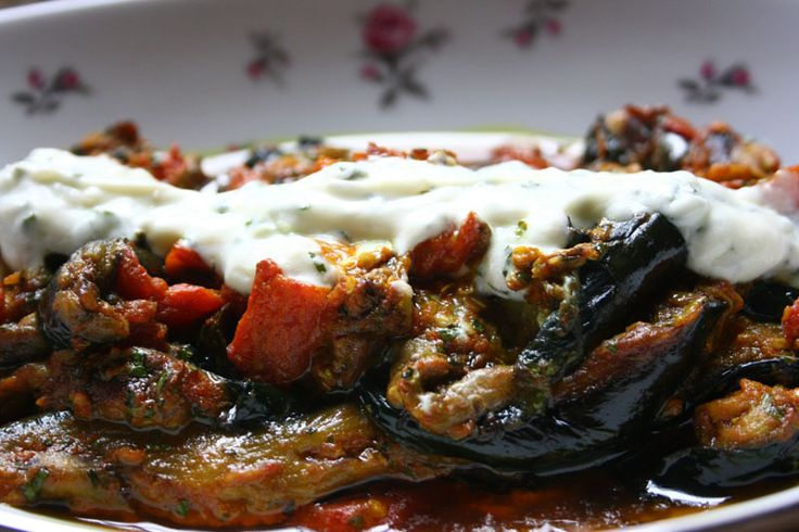 Afghan Burani Bonjon (Spicy Braised Eggplant) - I promise you'll never look at eggplant the same way again.