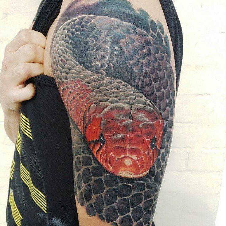 20 snake tattoos schlange tattoo und schlangen. Black Bedroom Furniture Sets. Home Design Ideas
