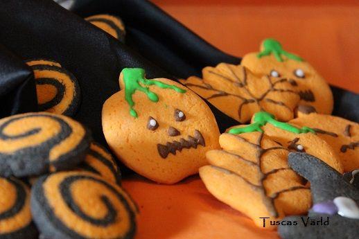 #halloween #småkakor #höst #glutenfritt Recept finns i länken.
