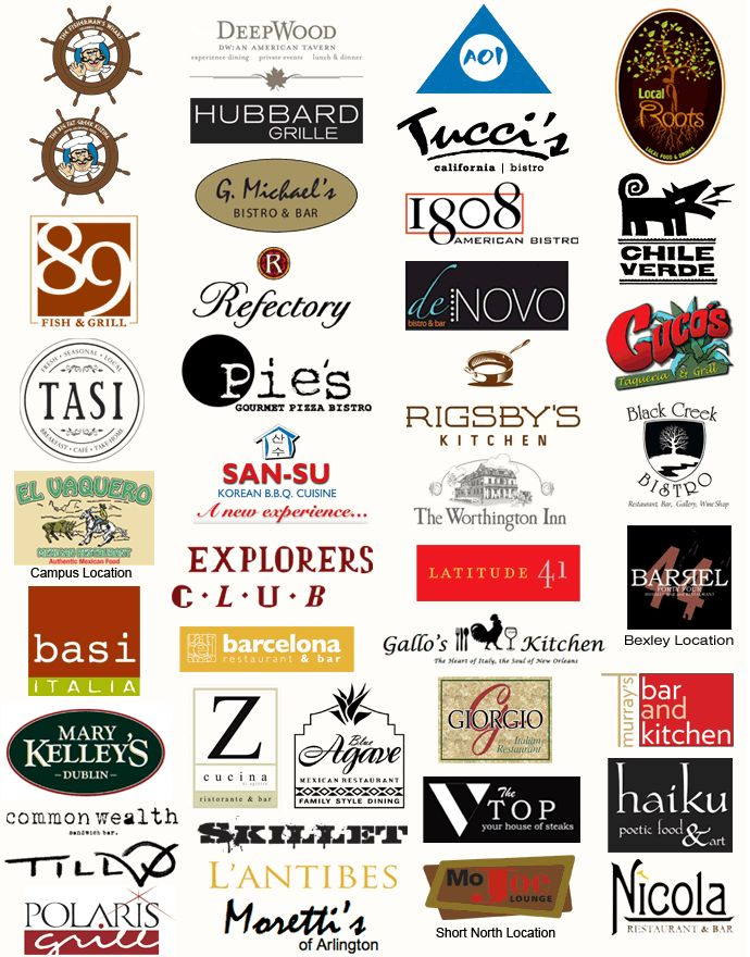 17 Best images about Restaurant Logos on Pinterest | Top ...