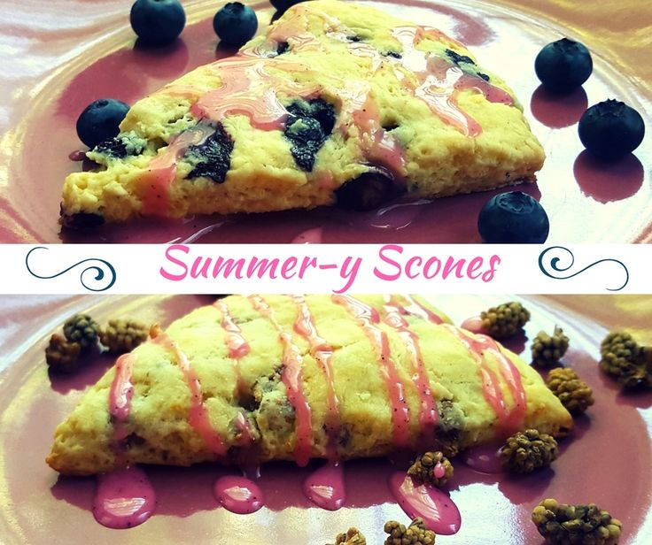 Summer-y Scones on Turnip the Beet! Nutrition and Wellness