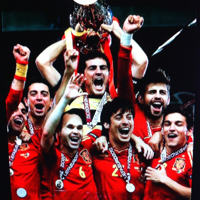 Spain wins Euro Cup!!